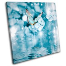 Blue Butterfly Tranquil Animals - 13-0599(00B)-SG11-LO